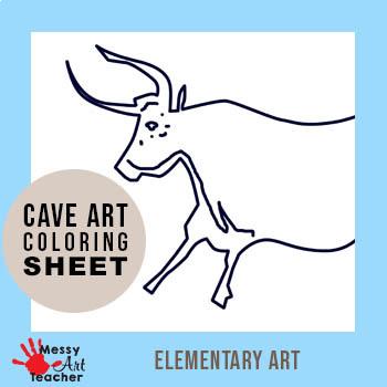 Prehistoric Art Worksheet Caves Of Lascaux In France By Messyartteacher