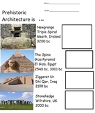 Prehistoric  Art  (6 Open-Ended pages, includes Teachers Guide)