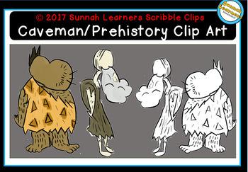 Prehistoric/ Caveman clip art