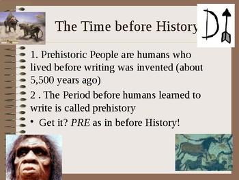 Prehistoric Human Notes