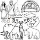Ice Age Clip Art Set