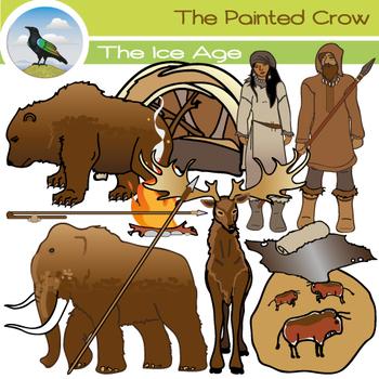 Ice Age Clip Art Set