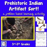 Prehistoric Indian Artifact Sorting Activity (intermediate grades)