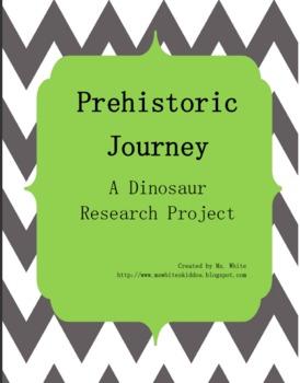 Prehistoric Journey: A Dinosaur Research Unit