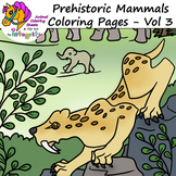 Prehistoric Mammals - Fact Pages with Coloring Sheets (Biology) - Vol 3