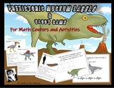 Prehistoric SCOOT Game & Museum Labels - For Math Centers and Activities