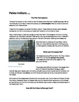 Prehistoric Native Americans Unit Pack