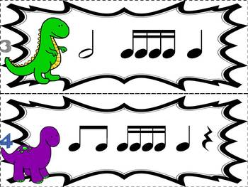 Prehistoric Patterns Bundle of Rhythm Concepts: Games for Music