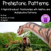 Prehistoric Patterns Relationships Additive Multiplicative Patterns Escape Room