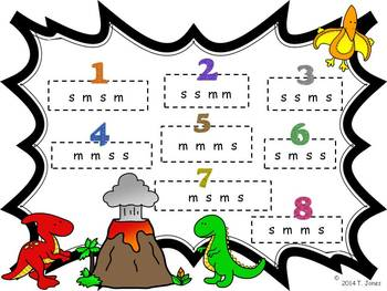 Prehistoric Patterns Sol-Mi Melody Concept: Games for Music