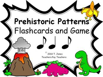 Prehistoric Patterns Syncopa (Music: Rhythm Concept Game)