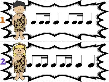 Prehistoric Patterns Ti-tika (Music: Rhythm Concept Game)