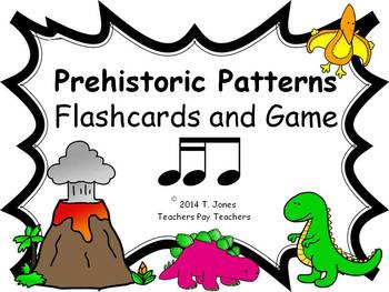 Prehistoric Patterns Tika-ti (Music: Rhythm Concept Game)