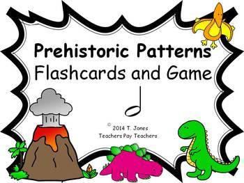 Prehistoric Patterns half note (Music: Rhythm Concept Game)