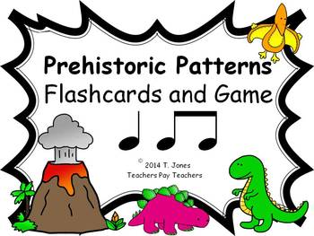 Prehistoric Patterns ta ti-ti (Music: Rhythm Concept Game)