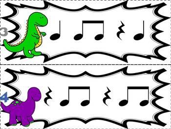 Prehistoric Patterns ta ti-ti rest (Music: Rhythm Concept Game)