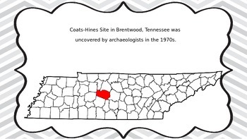 Prehistoric Tennessee ccss 4.1