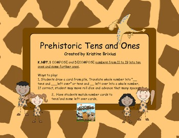 Prehistoric Tens and Ones