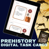 Prehistory (Ancient Civilizations) QR Code Task Cards