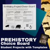 Prehistory Differentiated Student Projects