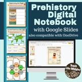 Prehistory Digital Interactive Notebook Activities