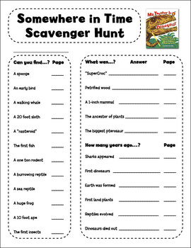 Dinosaur Book Activity