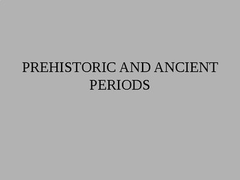 Prehistoric ancient man, hunter-gatherer