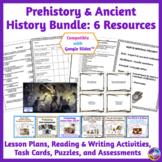 Prehistory & Ancient History BUNDLE: Lesson Plans, Tests,