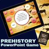 Prehistory Interactive PowerPoint Game