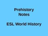 Prehistory PowerPoint
