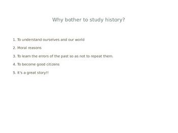 Prehistory PowerPoint Presentation Complete Unit