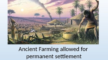 Prehistory PowerPoint, with group activities and discussion questions!