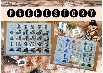 Prehistory / Prehistoria (cuadro doble entrada)