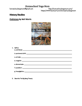 Prehistory- Short Answer Questions