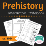 Prehistory Unit Interactive Notebook Pages