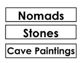Prehistory Word Wall