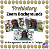Prehistory Zoom Backgrounds (Distance Learning)