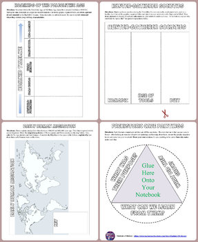 Prehistory and Early Humans Interactive Notebook