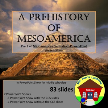 MESO-AMERICA: Prehistory of Meso-America PowerPoint Presentation