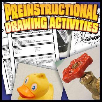 Preinstructional Drawing Activity Set