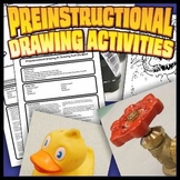 Preinstructional Drawing Activity Set