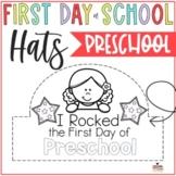 Prek First Day Hats- First Week Hats