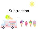 Prek/Kindergarten: Subtraction