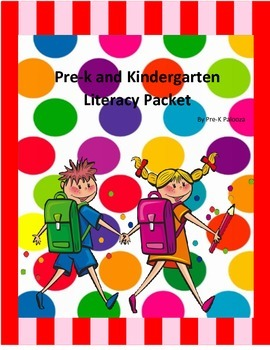 Prek Literacy Packet