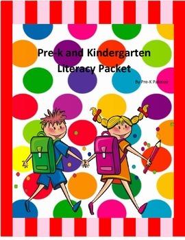 Prek Literacy Packet