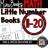 Little Number Books: Mini Books 11-20 {Prek-K, Special Ed., RTI}