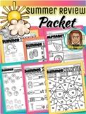 Prek Summer Review Packet   Summer Kindergarten   Summer C