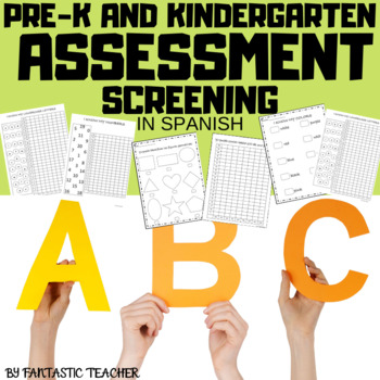 Prek and Kindergarten Assessment screening in Spanish