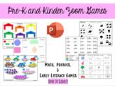 Pre-K, TK, and Kindergarten Zoom Games