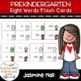 Prekindergarten Sight Words